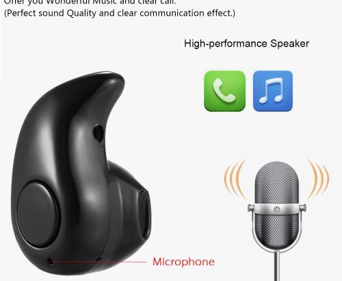 S530 Mini Invisible 4g Earphone 4.1 Headphones In-ear