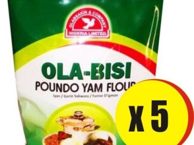 Ola Bisi OLABISI POUNDO YAM (0.9kg X 5)