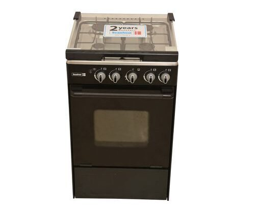 Scanfrost Standing Gas Cooker With 4 Burners And Oven