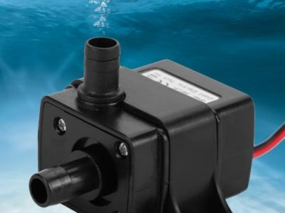 12V DC Ultra-Quiet Brushless Motor Submersible Water Pump For Garden Aquarium