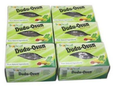 Soap Dudu Osun Black Soap (6-Packs)