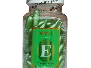 Animate Vitamin E Facial Oil – 60 Softgel Capsule