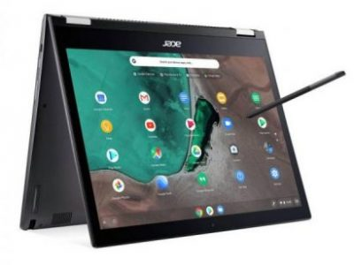 Acer Spin 13in Pentium Gold 4GB 64GB QHD 2-in-1 Chromebook