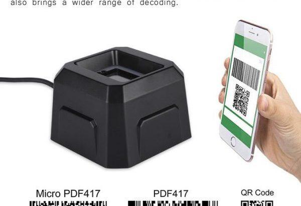 Scanner Machine Black QR Code Barcode Scanner Supermarket Cashier Special Scanning Platform 3d Scann