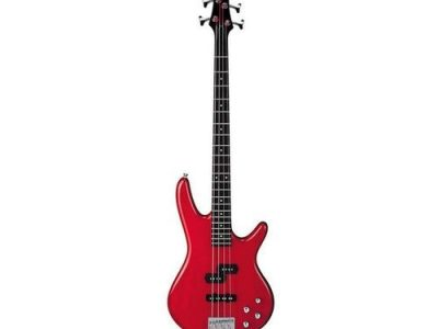 Professional 4-Strings Bass Guitar / Red With Guiter Bag
