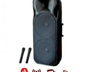 Biggest Rechargeable Public Address System With Bluetooth, 2 Microphones And USB Port