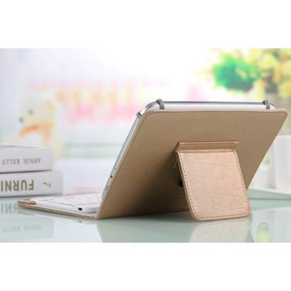 Bluetooth Keyboard Case For Fly I898a Tablet Pc Fly-Gold