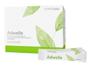 Immeri Adwelle Powder Drink, Plant Based Enzyme 4g X 50