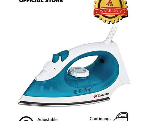Binatone Smoother Gliding Steam Iron SI-1605 – Blue.
