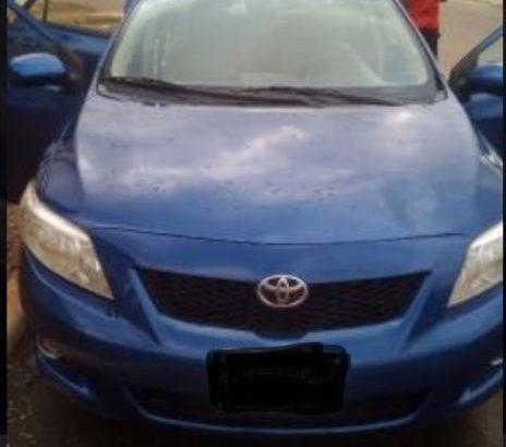 Toyota Corolla 2009 Blue