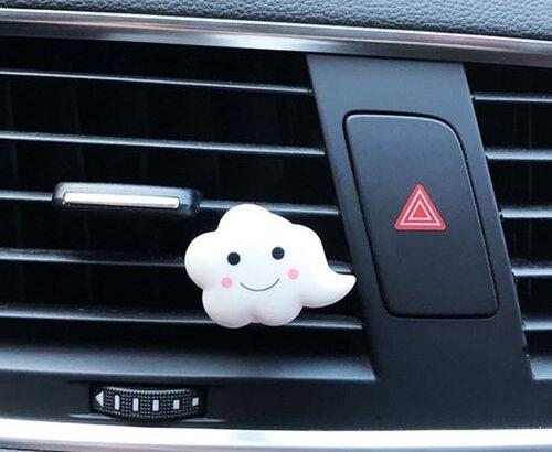 Cute Car Air Fresheners For Car Flavorings Fragrances Car Aroma Diffuser Decor Auto Perfume Clip Sce