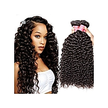 "Kinky Curly Bohemian Wig 10""- Black"