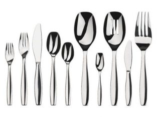 Gourmet Gourmet Settings Chelsea 45-Piece Stainless Steel Flatware Set
