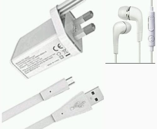 Tecno Fast Charger + FREE Earpiece And USB Cable For Camon 11, Spark 3, Camon 11 Pro, F1,Pouvoir 2,