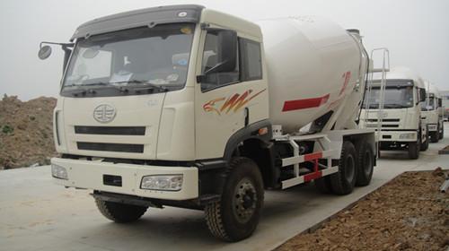 FAW 12m3 Concrete Mixer Truck
