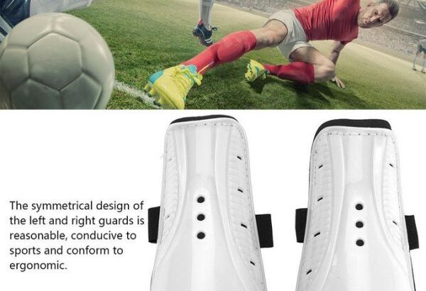 1 Pair Sports Safety Football Shin Guard for Children