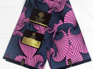 Classy High Quality Ankara Wax Fabric
