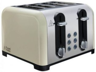 Russell Hobbs 22408 Worcester 4 Slice Toaster