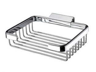 Nismad SPONGE BASKET BATHROOM ACCESSORY- NISMAD High Quality Wall Mounted Rectangular Sponge Basket,