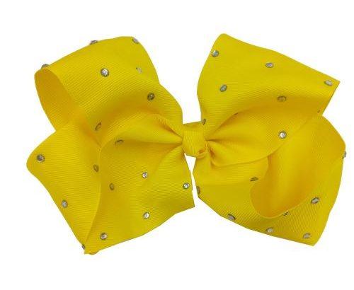 Headwear Hair Clip Ribbon Cloth Rhinestone With Alligator Clip Hairbow Decoration Bowknot