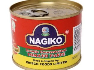 Erisco Foods Nagiko Double Concentrated Tomato Paste 210g