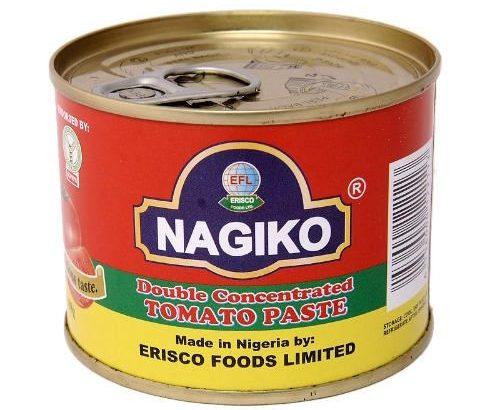 Erisco Foods Nagiko Double Concentrated Tomato Paste 210g