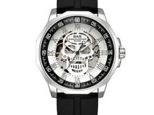 Sas Luminous Silicone Manual Mechanical Watch