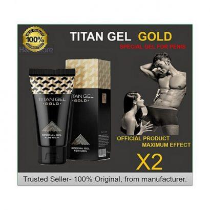 Titan Gel Penis Enlargement Cream-Gold