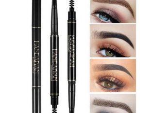 Zikel 2in1 Rollable Eyebrow Pencil And Definer