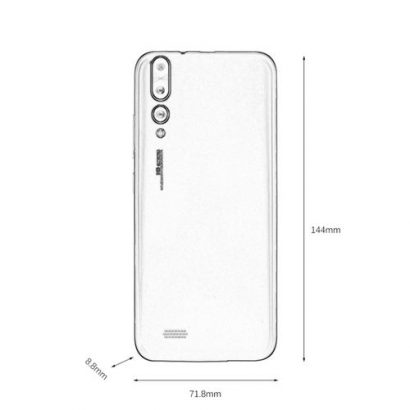 5.0 Inch Big Screen P20 Unicom 3G Smartphone 512+4