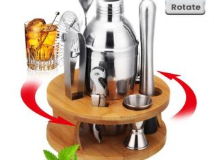 22pcs Pro Cocktail Shaker – Martini Mixer