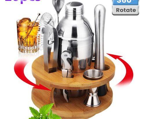 22pcs Pro Cocktail Shaker – Martini Mixer