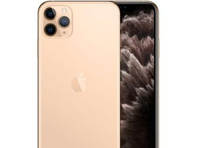 Apple IPhone 11 Pro Max 6.5-Inch Super Retina (4GB RAM, 64GB ROM),iOS 13, (12MP+12MP+12MP)+12MP 4G L