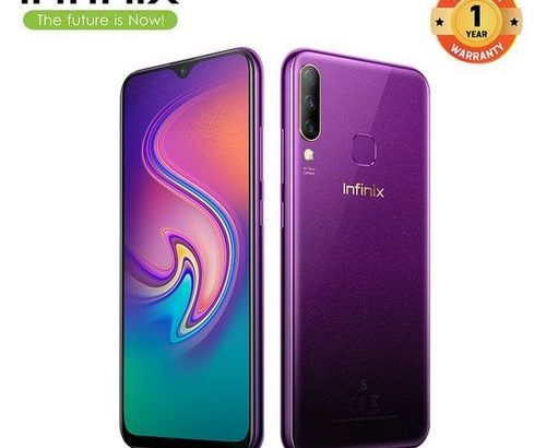 Infinix S4 (X626) 6.2-Inch (3GB,32GB ROM),13MP+8MP+2MP Triple Rear Camera 32MP AI 4000MAH Dual SIM-T