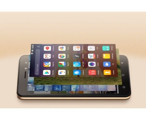 Itel A33 5.0″ Screen, Android 8.1, 16GB ROM + 1GB ROM, 2PCS 2200mAh Battery, Fingerprint, 5+2MP Came
