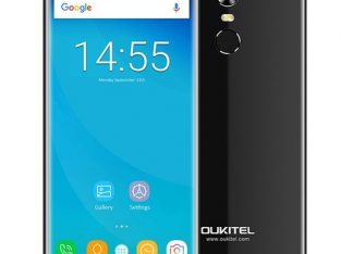 Oukitel C8 3G Phablet 5.5 Inch Android 7.0 Quad Core 2GB RAM 16GB ROM 8.0MP Rear Camera – BLACK