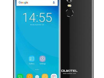 Oukitel C8 3G Phablet 5.5 Inch Android 7.0 Quad Core 2GB RAM 16GB ROM 8.0MP Rear Camera – BLACK