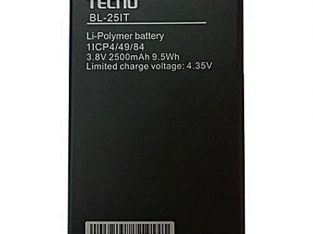 Tecno BL-25IT Replaceable Battery For W2.
