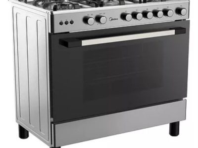 Midea 5 Gas Burners Gas Cooker( 90 X 60 ) 36LMG5G030- Silver