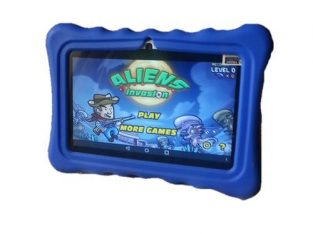 Gtouch 2GB RAM / 16GB Rom Educatioal Learning Children Tablet + Free Proof Case – Blue