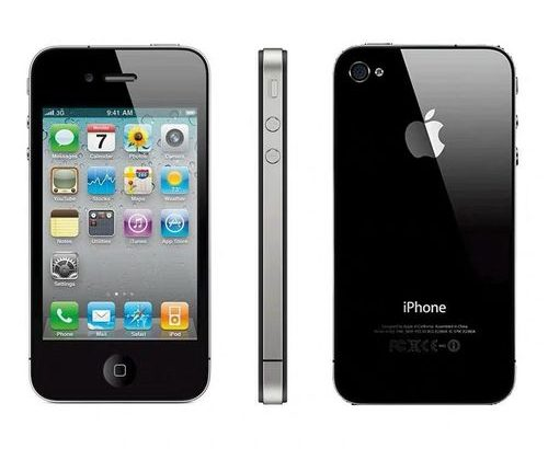 Apple IPhone 4 BLACK 8gb Smart Phone Used Cell Phones 99% Like New 3.5-inch Screen