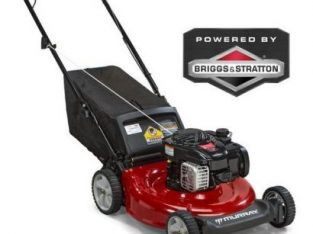 WORK MASTER Briggs & Stratton Lawn Mower 450series Petrol Back- Discharge 4.5HP