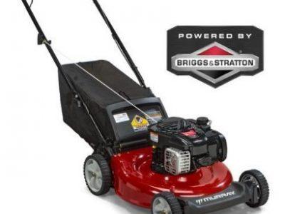 WORK MASTER Briggs & Stratton Lawn Mower 450series Petrol Back- Discharge 4.5HP