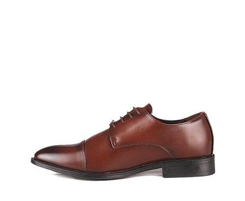 Joseph Abboud Men's Plain Formal Lace Up Shoe – Brown
