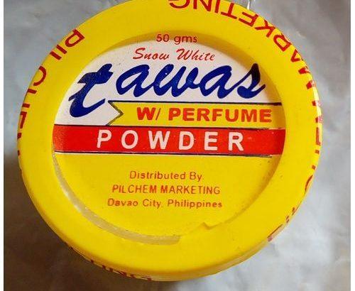 Tawas Snow White Powder