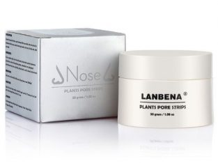 Lanbena Facial Blackspot Remover Nose Mask Pore Strip Acne Treatment And Deep Cleansing