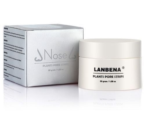 Lanbena Facial Blackspot Remover Nose Mask Pore Strip Acne Treatment And Deep Cleansing