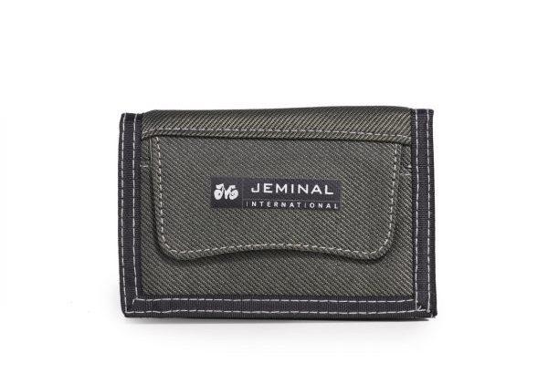 Wallet JEMINAL Casual Short Canvas Denim Neutral Men's Wa