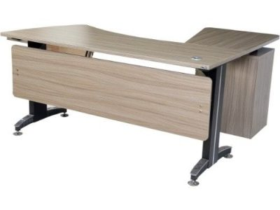 Lifemate Lifemate Office Furniture Wood Executive Table With Iron Leg