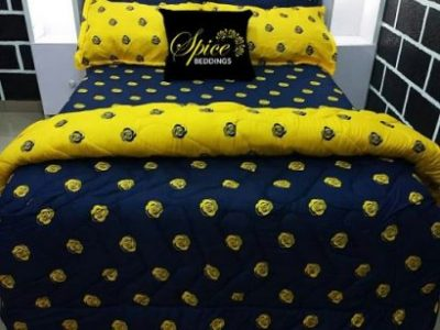 Spice Bedsheets Duvet, Bedsheet, Pillow Cases (Free Gift Inclusive)